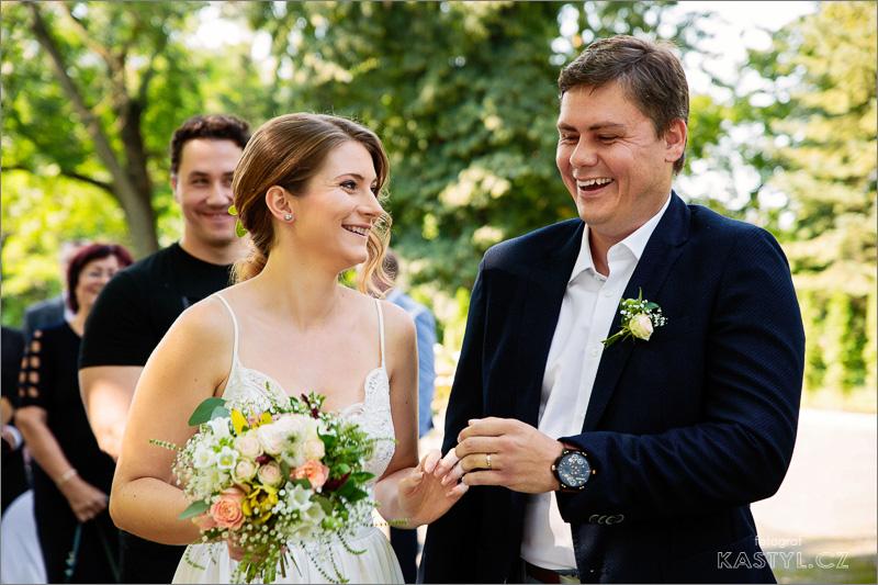 Lenka a Marek, Slavkov